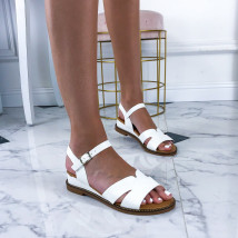 Biele dámske sandálky-212677-04