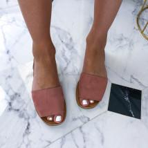 Ružové dámske sandálky-212749-01