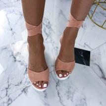 Ružové sandálky na platforme-212657-03