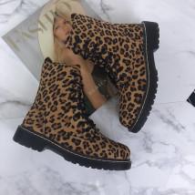 Dámske leopardie nízke čižmičky-193904-02