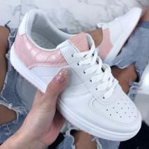 Bielo-ružové dámske tenisky-200529-01