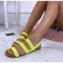 Dámske neónové sandále-184813-02