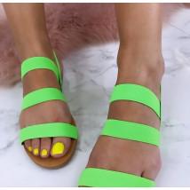 Dámske zelené sandálky-184854-02