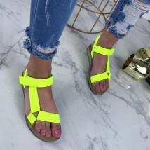 Neónové pohodlné sandálky-207494-01