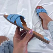Modré dámske šľapky-207966-06
