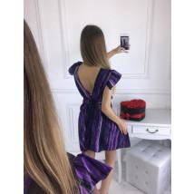 Dámske purpurové šaty-210521-01