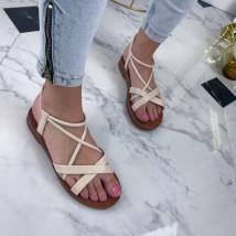 Bežové dámske sandále-208388-03