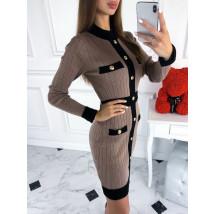 Hnedé šaty-219674-08