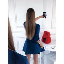 Modré elegantné šaty-220099-03