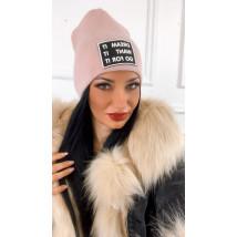 Ružová trendy čiapka-224363-01