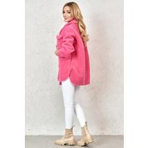 Ružový teddy kabát-229828-01