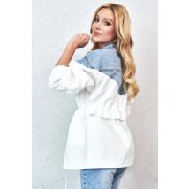 Bielo modrá prechodná bunda-229875-01