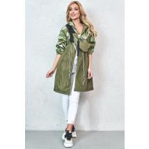 Zelená prechodná bunda s ľadvinkou-229877-03