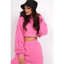 Ružová trendy mikina-236567-01