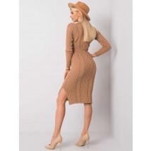 Hnedé pletené šaty-227277-01