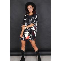 Čierne oversize tričko-236575-02