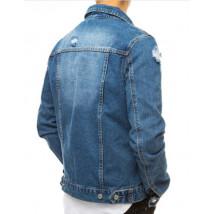 Modrá rifľová vesta-245877-06