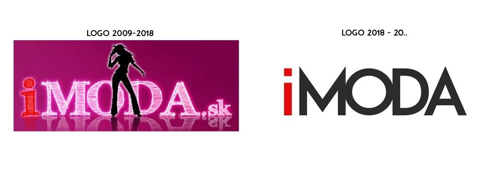 Staré a nové logo i-moda.sk