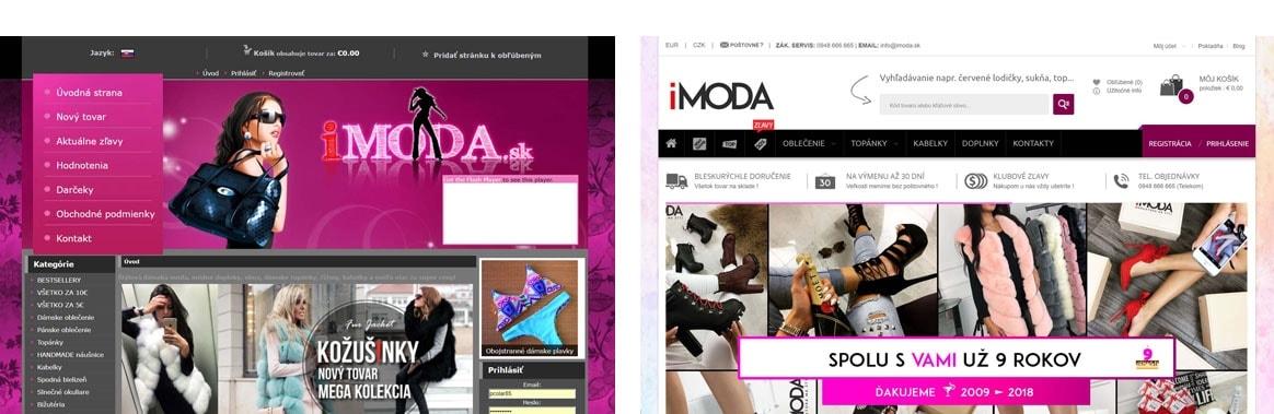 Nový i moda web !